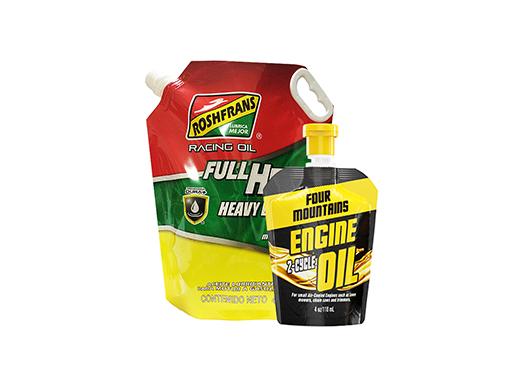 motor oil packaging