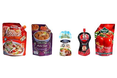 sauce packaging