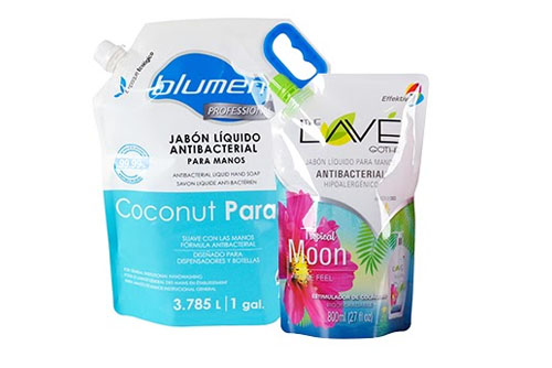 Flexible pouch packages