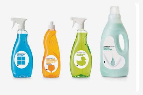 Household Cleaning Products Packaging