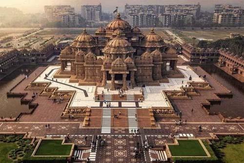 A Sprawling Shot of Delhi