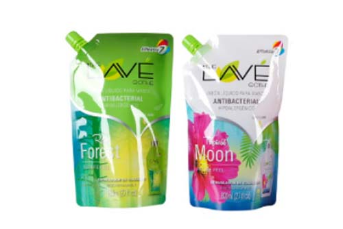 Logos Pack spouted stand-up pouches
